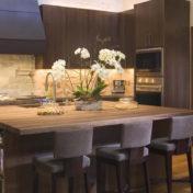 kuhinja in jedilnica v enem