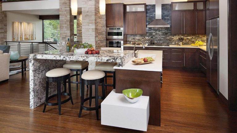Odprta postavitev kuhinje